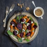British roast vegetable salad
