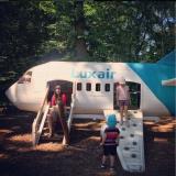 Found a Mini Luxair Plane at Parc Merveilleux!
