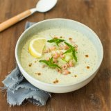 Cucumber yoghurt soup 1