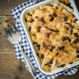 Apple Bread and Butter Pudding