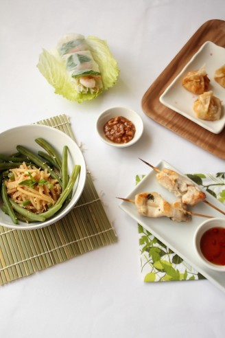 A summery Asian Feast