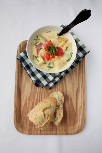 Autumn Chowder – a colourful soup for colder days