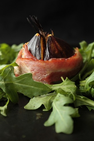 Pancetta-Wrapped Figs