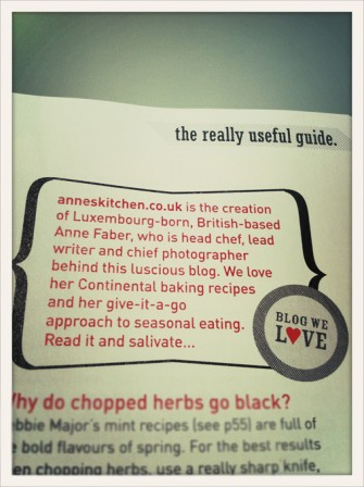 Delicious Magazine loves Anne's Kitchen