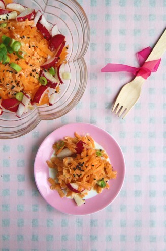 Japanese-inspired Carrot Salad