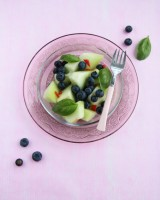 Melon and Blueberry Salad