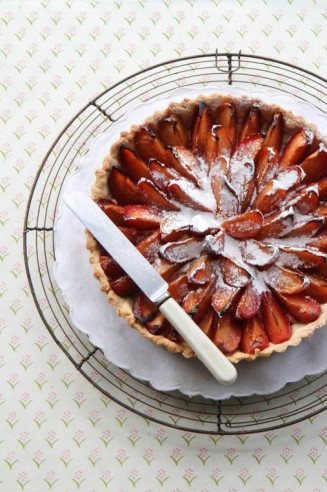 Quetschentaart – Luxembourgish plum tart and Cook Book Giveaway