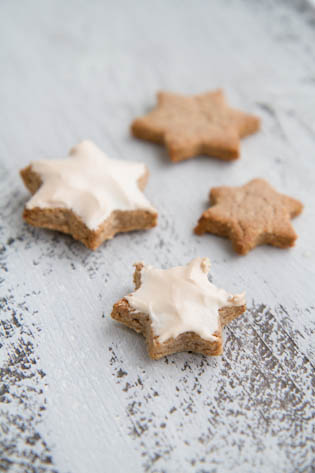 Zimtsterne, Cinnamon Star Cookies, Christmas Baking