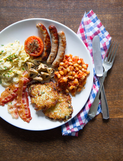 Full English Breakfast | Anne's Kitchen