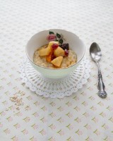 Earl Grey stewed Fruit Porridge