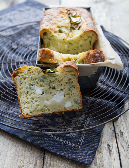 feta cake with courgette and mint anne 39 s kitchen. Black Bedroom Furniture Sets. Home Design Ideas