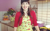 My supercute Blutgeschwister dress has little tomatoes and radishes on it