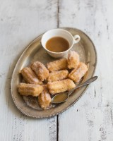 Churros with Whisky dipping sauce