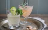 Grapefruit Gin & Tonic / Cucumber Lemonade