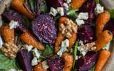 British roast vegetable salad
