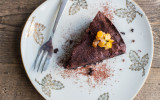 Decadently moist chocolate orange cake