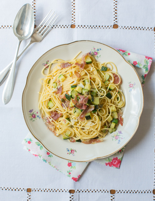 how to make courgette spaghetti uk