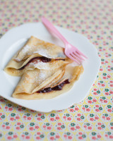 Super simple Jam Crêpes